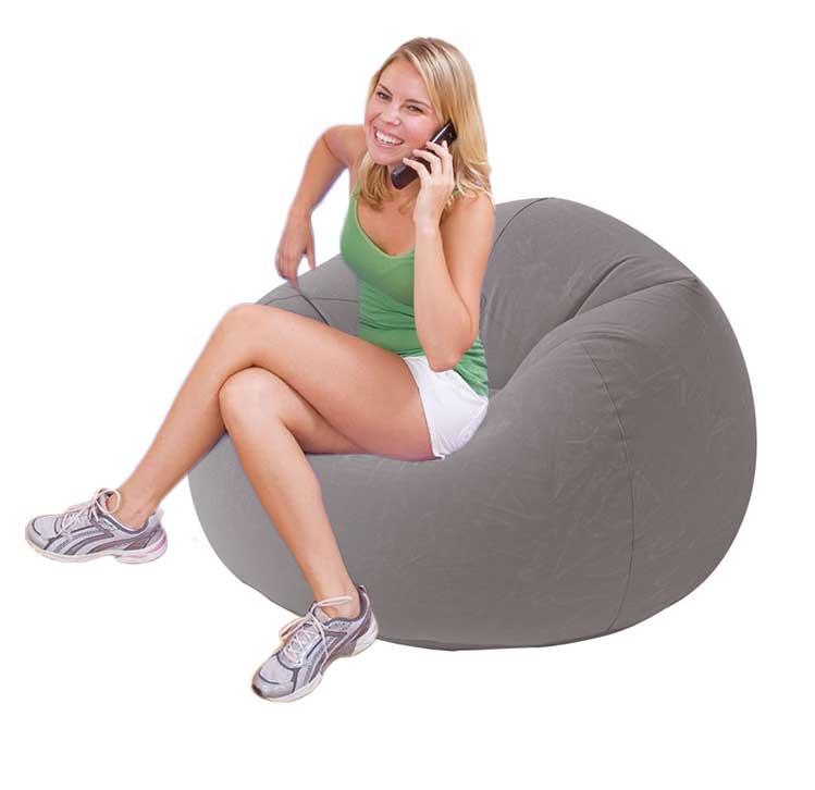 Afbeelding van Beanless Bag Deluxe - Opblaasbare lounge stoel