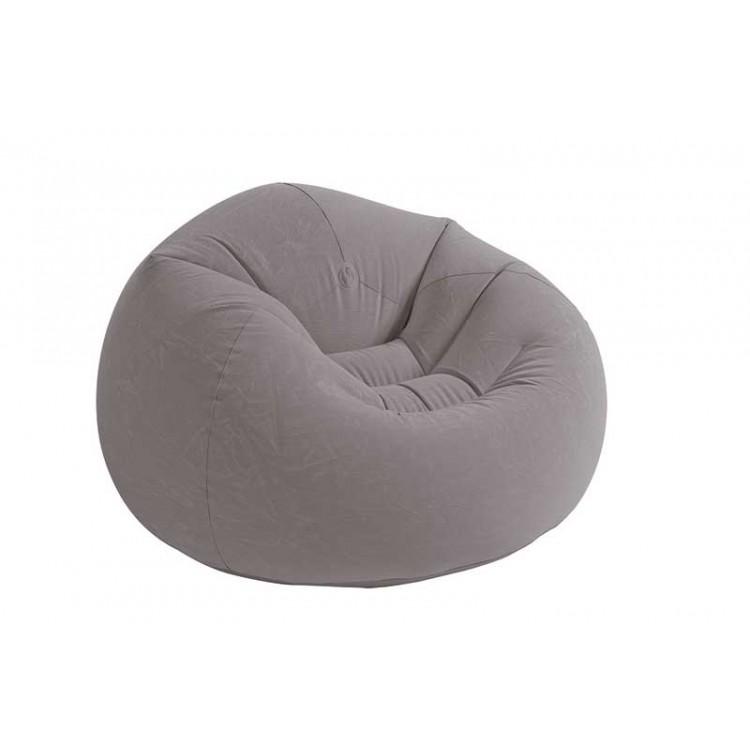 Opblaasbare Lounge Stoel.Beanless Bag Deluxe Opblaasbare Lounge Stoel