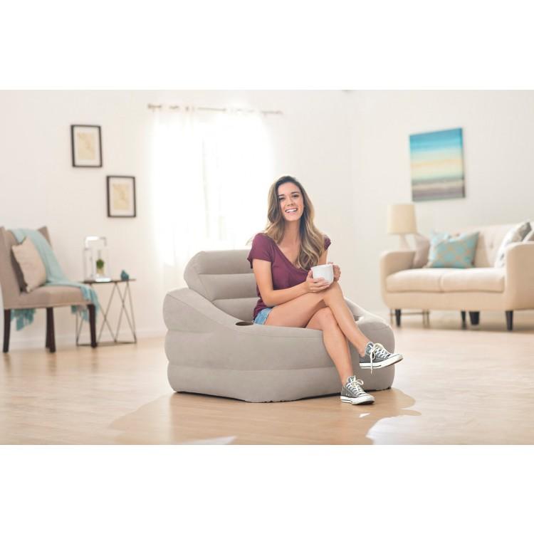 Super Intex Loungestoel Accent Grijs Dailytribune Chair Design For Home Dailytribuneorg
